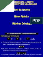 Balanceamento de equações químicas (15..ppt