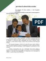 08.12.2014 Alcaldía Previene La Deserción Escolar