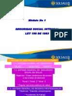 Modulo No 1 Seguiridad Social