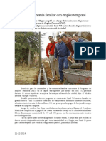 11.12.2014 Mejora Economía Familiar Con Empleo Temporal