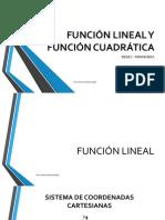 Función Lineal y Cuadrática