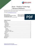 Hybrid Analysis - NextGen Technology for Advanced Malware