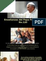 Enseñanzas Del Papa Francisco - Nº 120