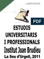 BTX-CF Orientació Universitat Llibret