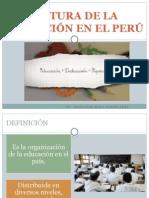 Estructura de La Educacion en El Peru