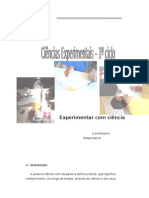 Projeto - Ciencias Experimentais 1º Ciclo