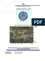 Plan Local de Respuesta PLR. Rivera Del Rio