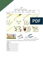 Ficha trabajo tools