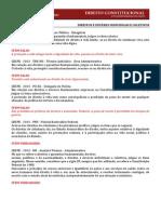 Apostila - Direitos e Garantias Individuais e Coletivos - Comentada