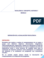 Modelos de Evaluacion psicologica