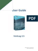 User Guide VisitLogUser-Guide-VisitLog-2.5-Eng-Version 2.5 Eng Version PDF
