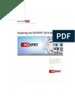 Exploring the HDXPRT 2014 Benchmark