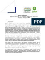 TDR Elaboración video sistematización de proyecto