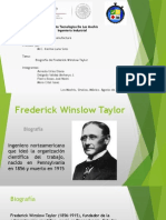 Frederick Winslow Taylor BIOGRAFIA