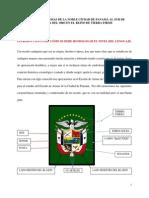 El Escudo de Armas de La Noble Ciudad de Panamá Al Sur de Castilla Del Oro en El Reino de Tierra Firme