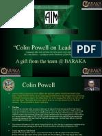 Collin Powell on Leadership