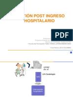 Gestiton Post Ingreso Hospitalario