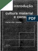 Cultura Material e Consumo