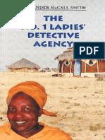 The No1 Ladies Detective Agency - Alexander Smith