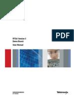RTSA Demo Board User Manual