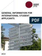 Heidelberg General Info for Applicants