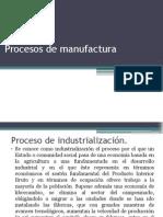 Procesos de Manufactura Clase