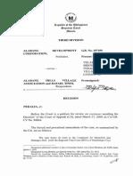 Alabang Development Corp v. Alabang Hills Village Association
