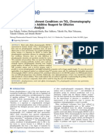 Optimization of Enrichment Conditions on TiO2 Chromatography