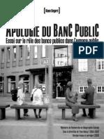 BÉGARD_Pour Une Apologie Du Banc Public