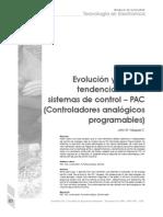 Evolucion Sistemas de Control PAC