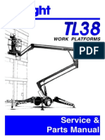 UpRight TL38 Service Manual