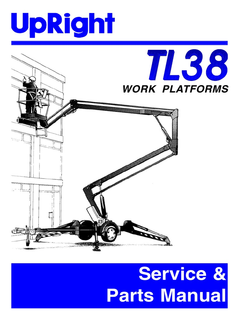 Upright Tl38 Service Manual