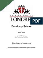 Antologia de Fondos y Salsas
