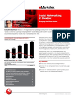 EMarketer Social Networking in Mexico-Bringing the Plaza Online(1)