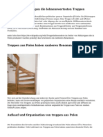 Aus Polen entspringen die lohnenswertesten Treppen