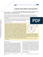 Identification of Stage-Specific Breast Markers Using Quantitative