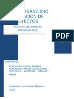 analisis financiero/evaluación de proyectos
