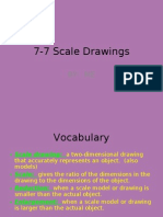 7-7 Scale Drawings