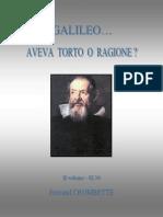 Galileo aveva torto...