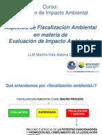 Fiscalización ambiental en EIA