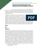 Analisis Critico Del Pacto Internacional de Los Derechos Internacionales Politcos