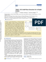 Rapid Combinatorial ERLIC−SCX Solid-Phase Extraction for In-Depth