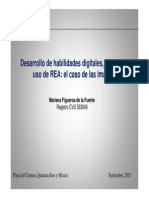 Desarrollo de Habilidades Digitales, Búsqueda y Uso de REA