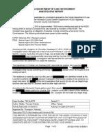 Nick Nicholson Redacted Investigative Report