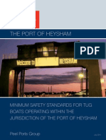 HTI2 Minimum Safety Standard for Tugs