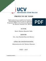 Proyecto de InvestigaciÓn PRINCE2