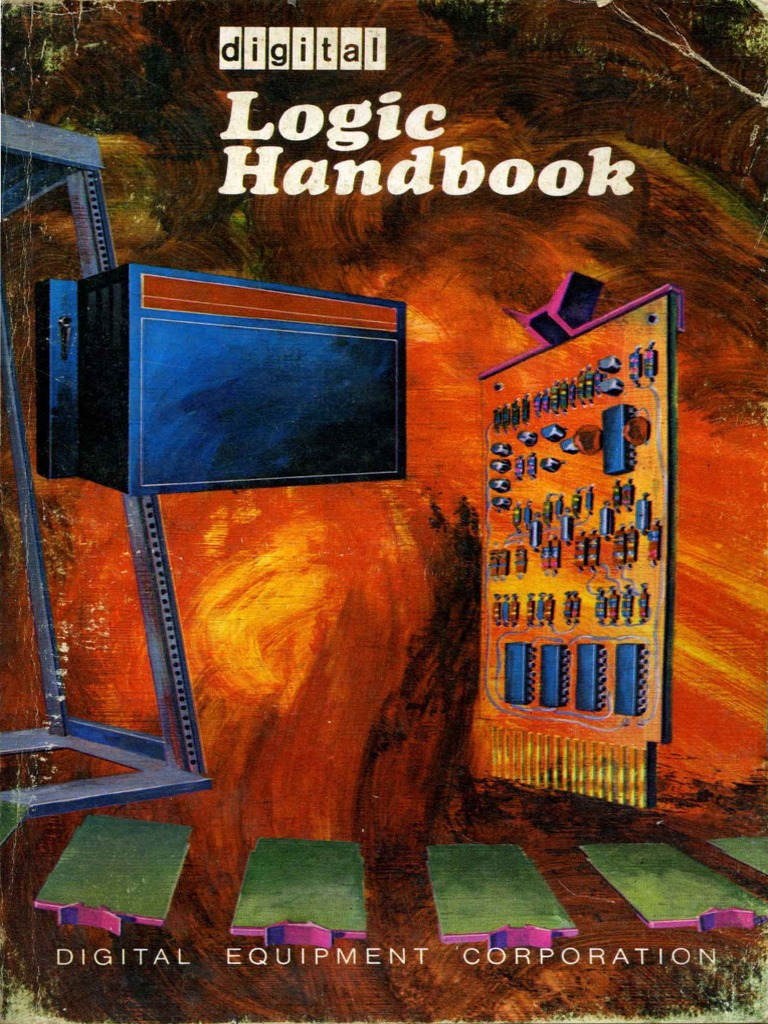 Digital Logic Handbook 1970 Electronic Circuits Design For The Circuit A Find Combinedresistance R B