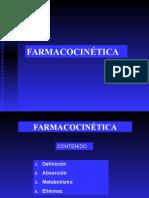 Clases No 1- Farmacocinetica