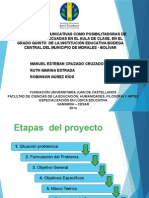 SUSTENTACION - ESTRATEGIAS COMUNICATIVAS