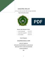 ARAB PRA ISLAM makalah sejarah peradaban Islam